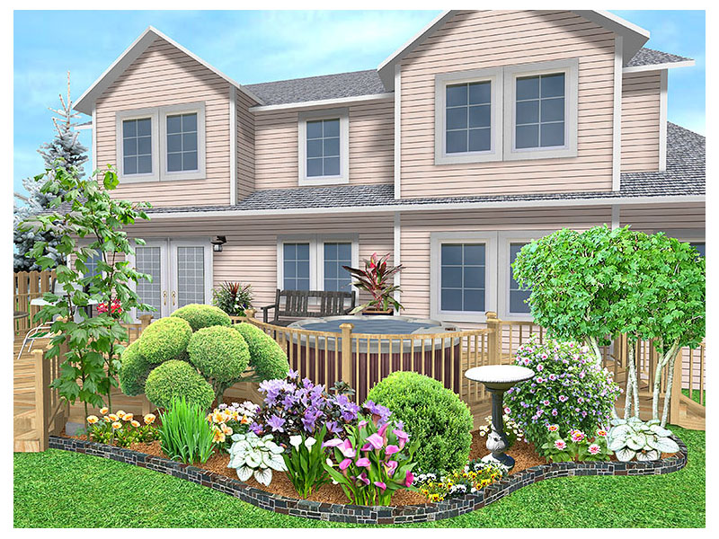 Front Landscape Design Ideas 800 x 600