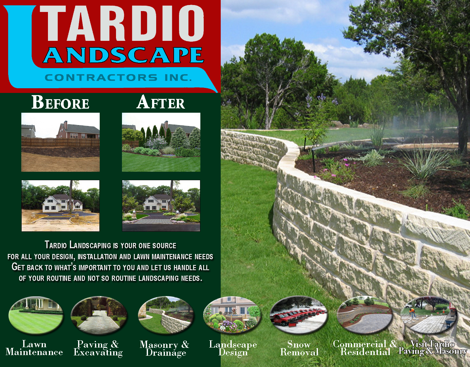 Tardio Paving: Top commercial residential driveway paving
